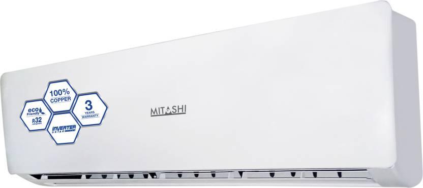 Mitashi 1.5 Ton 5 Star BEE Rating 2018 Inverter AC  - White