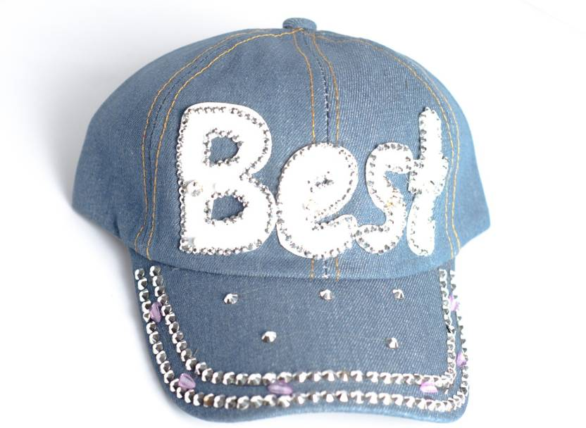 b2a45c94e Capskart Denim Hand Embroidered Cap Cap - Buy Capskart Denim Hand ...
