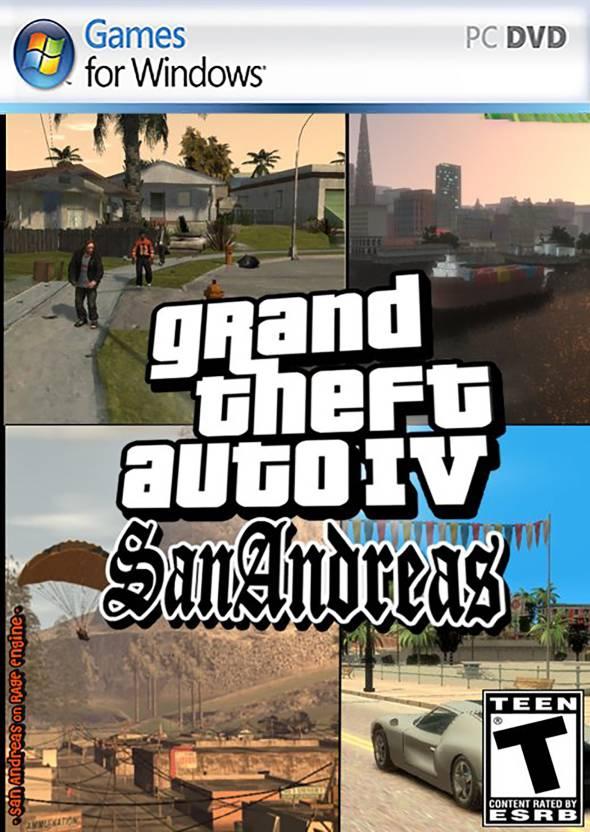 Grand Theft Auto I V Sanandreas ( Brings back Sanandreas