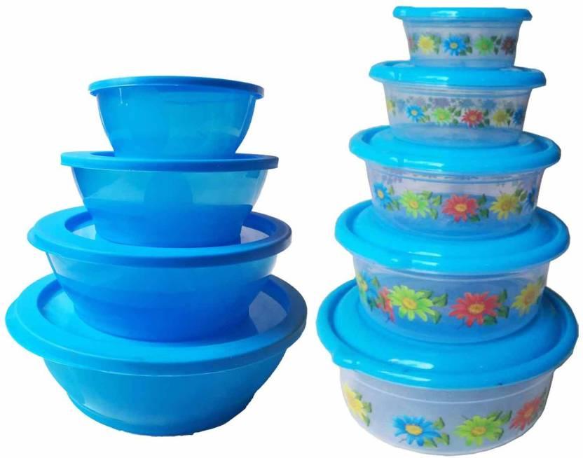 Greenviji Plastic Kitchen Storage Box Container Set Idle For