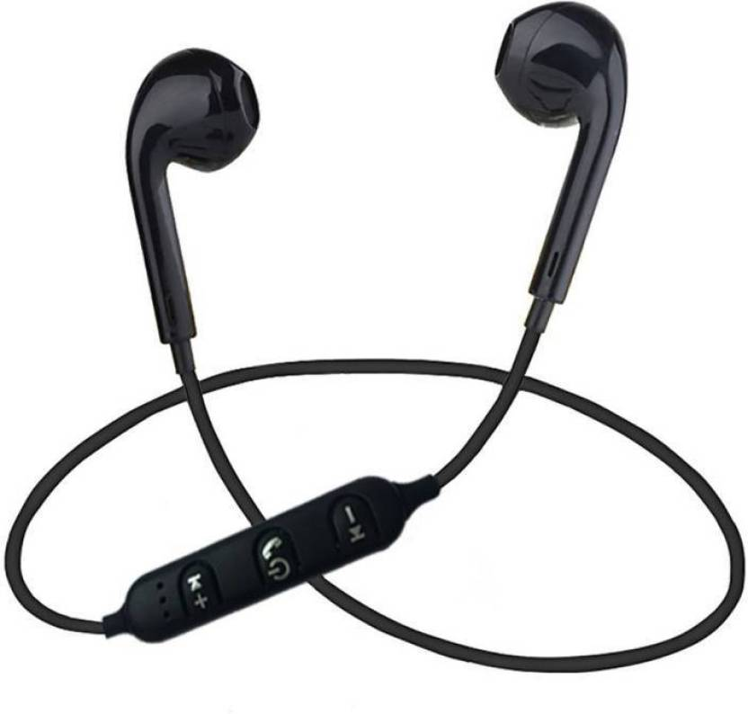 d7c403e0437 OFFENDER WIRELESS HEADPHONE WITH MIC Bluetooth Headset with Mic (Black, In  the Ear)
