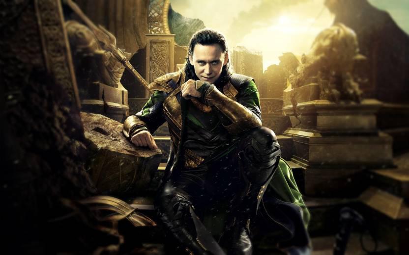 Movie Thor The Dark World Thor Loki Hd Wallpaper Background Wall