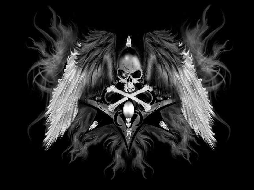 b40dea146e Music Death Angel Heavy Metal Metal Hard Rock Death Metal Skull Evil  Satanic Occult HD Wall Wall Poster Print on Art Paper 13x19 Inches Paper  Print (19 inch ...