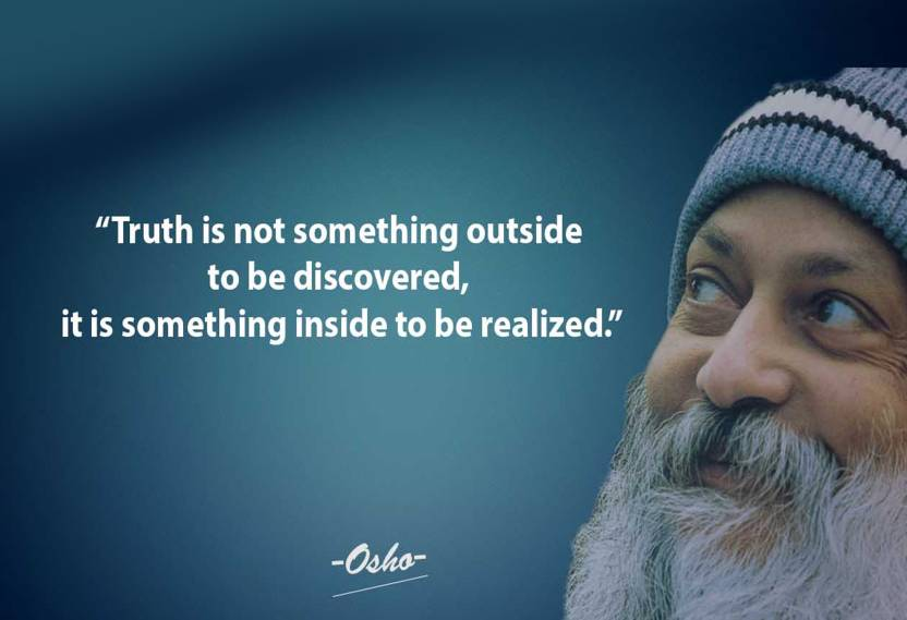 Osho Creative Quotes Wall Poster Print On Art Paper 13x19