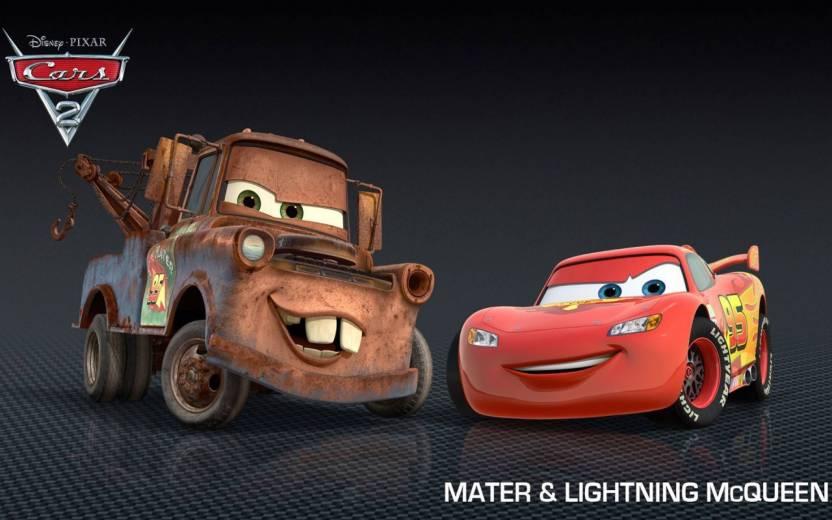 Movie Cars 2 Mater Lightning Mcqueen Car Hd Wallpaper Background