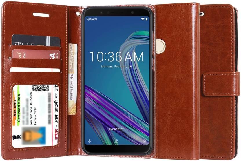 Unistuff Wallet Case Cover for Asus Zenfone Max Pro M1