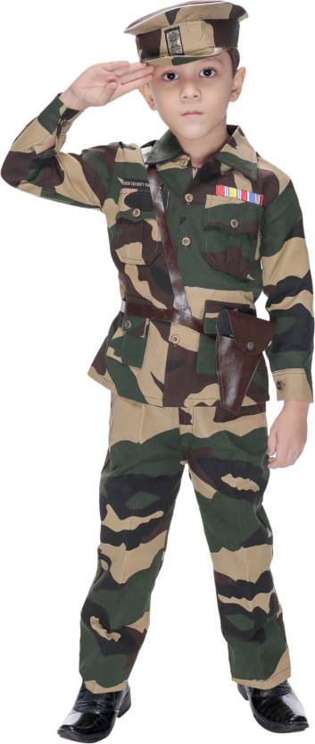 924b4202ab4 Smuktar Garments Kids Army Dress Kids Costume Wear