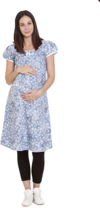 39934de5984 Goldstroms Casual Floral Print Women Maternity Wear Kurti (Multicolor)