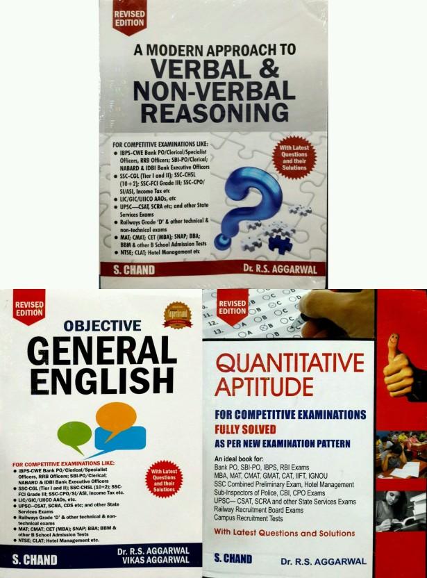 Rs Aggarwal Verbal And Nonverbal Reasoning Book