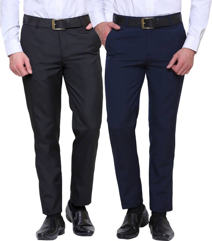 4ab4f91e04d Inspire Slim Fit Men Multicolor Trousers - Buy Inspire Slim Fit Men  Multicolor Trousers Online at Best Prices in India