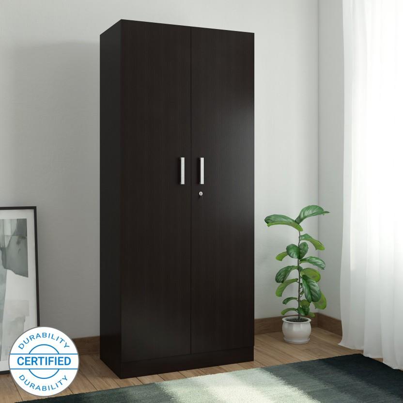 Spacewood Optima Engineered Wood 2 Door Wardrobe