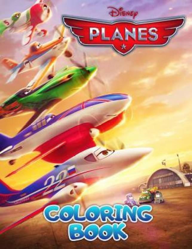 Disney Planes Coloring Book: Buy Disney Planes Coloring Book by ...