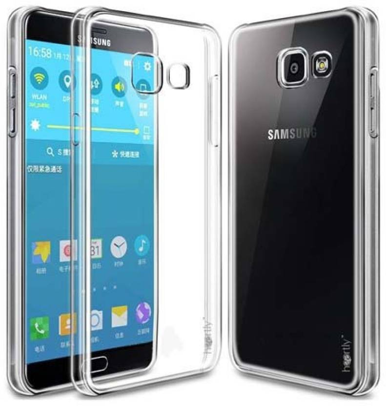 Crystal Digital Back Cover for Samsung a9 pro Soft Sillicone