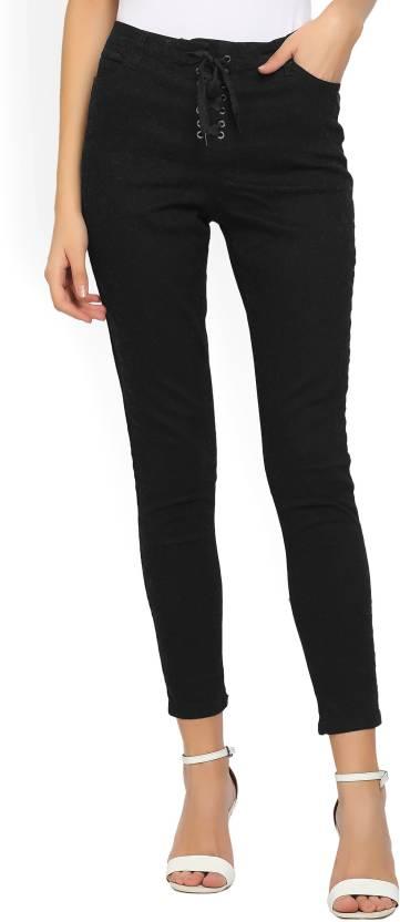 2e1ce7f1a20 Forever 21 Slim Women Black Jeans - Buy BLACK Forever 21 Slim Women ...