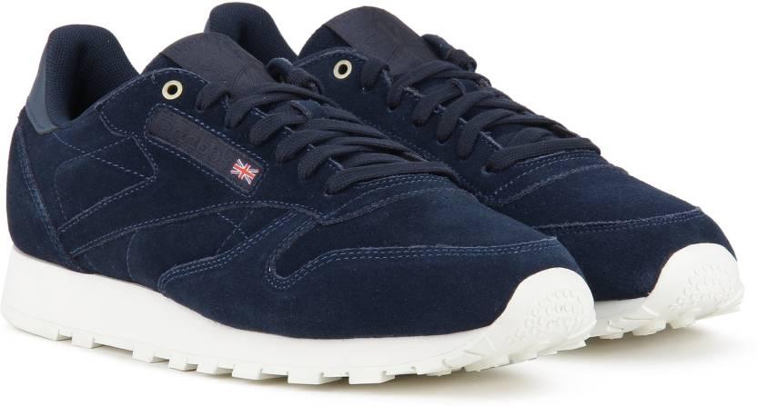 8b0fff935ea REEBOK CL LEATHER MCC Sneakers For Men - Buy BLUE CHALK Color REEBOK ...