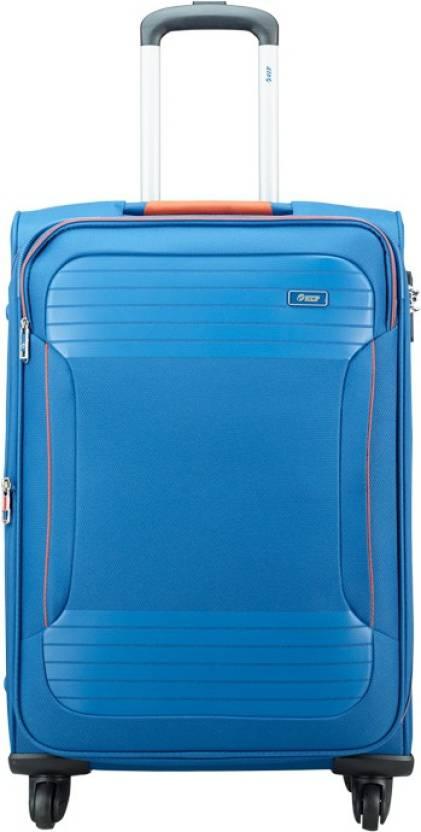 0fb1dd5d5c VIP ZANE 4W EXP STROLLY 69 MARINE BLUE Expandable Check-in Luggage - 28 inch  (Blue)