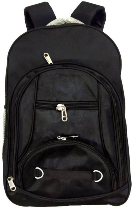 9f47f4275088 kart red 40 ltr big space school/college/travel/multi-purpose bags (laptop)  Waterproof School Bag