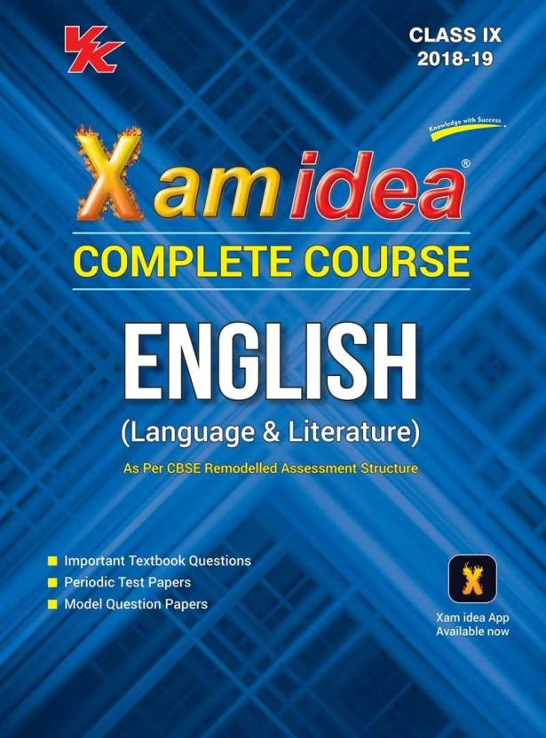 Xam Idea Complete Course English Class 9 (Moments and