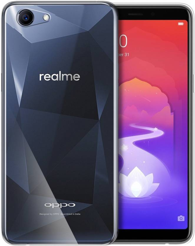 buy popular 8fc37 46f49 GS SMART Back Cover for OPPO Realme 1 {Flexible Glass} - GS SMART ...