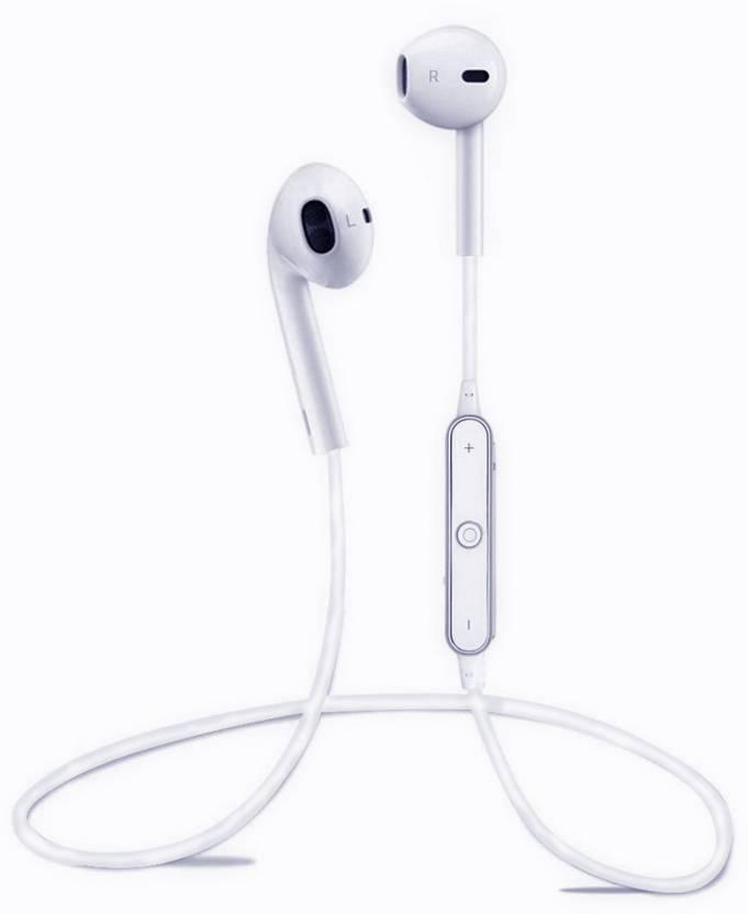 9815b230f8c KBOOM Sports Neckband Earphone S6 Bluetooth Headphone Wireless Handfree  With Microphone for iPhone, Samsung, Gionee, Redmi, OPPO ...