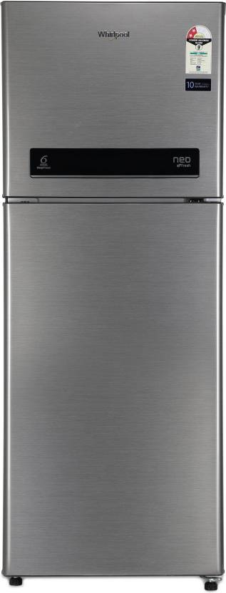 9926cbcbc26 Whirlpool 245 L Frost Free Double Door 2 Star Refrigerator (Magnum Steel