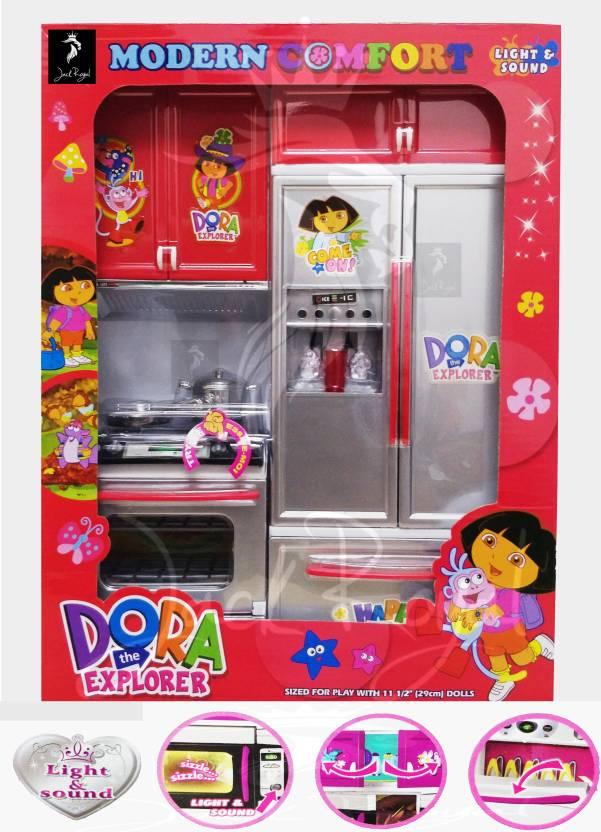 Jack Royal Dora The Explorer Modern Kitchen Set Dora The Explorer