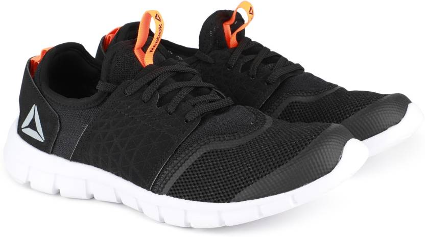 7d7b66dcca25e3 REEBOK HURTLE RUNNER Running Shoes For Men - Buy BLACK WILD ORANGE ...