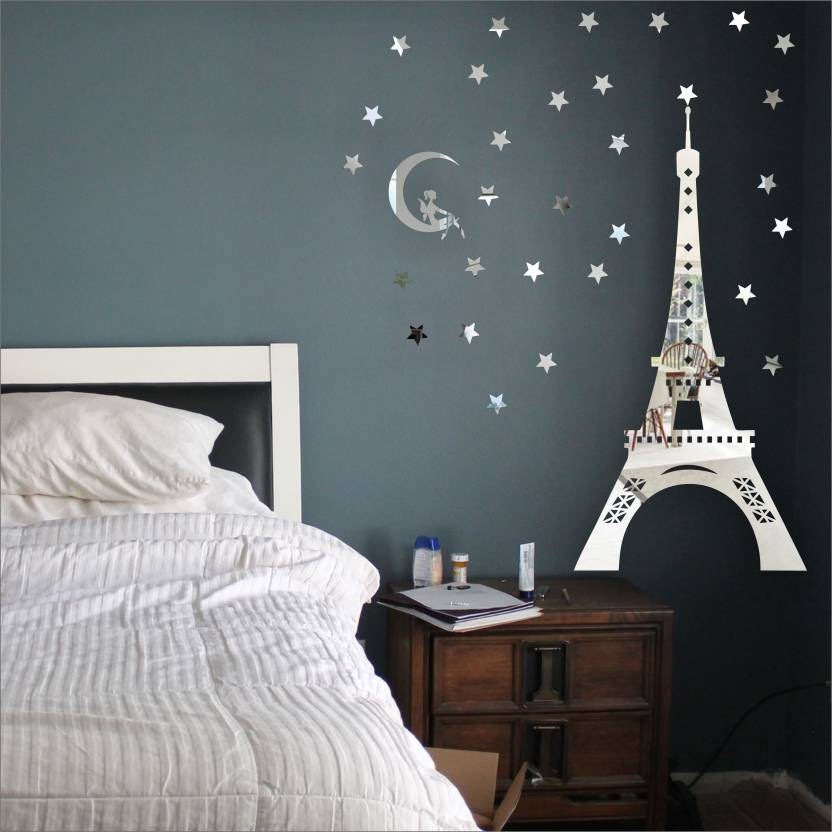 Look Decor Extra Large Look Decor Eiffel Tower Paris Silver