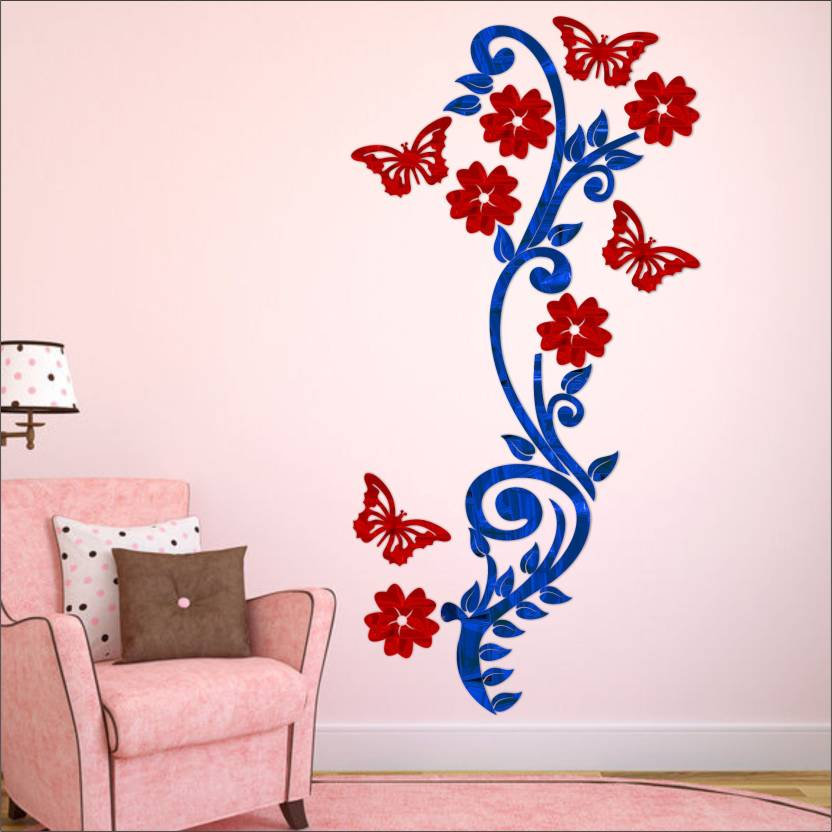 look decor extra large look decor bail flower with butterfly