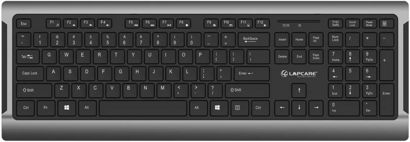 0c507c3a308 Lapcare Solo Plus LKB 701 Wireless Desktop Keyboard - Lapcare ...