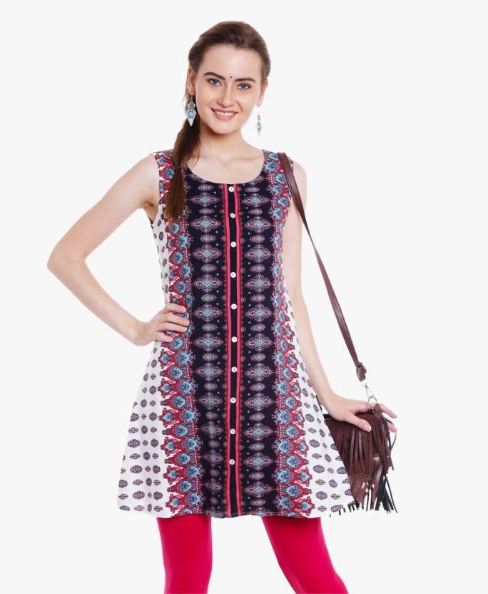 901b489ae7 FBB - Srishti Casual Printed Women Kurti - Buy FBB - Srishti Casual ...