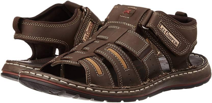8aee48ac338 Lee Cooper Men Brown Sandals - Buy Brown Color Lee Cooper Men Brown Sandals  Online at Best Price - Shop Online for Footwears in India | Flipkart.com