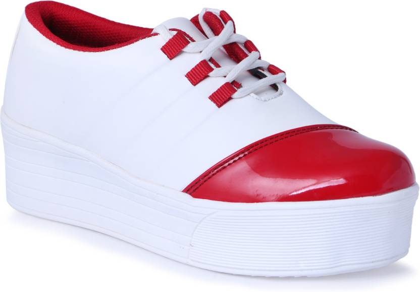 Shoe Mate Girls Casual Shoes White Color Original Sneakers For Women