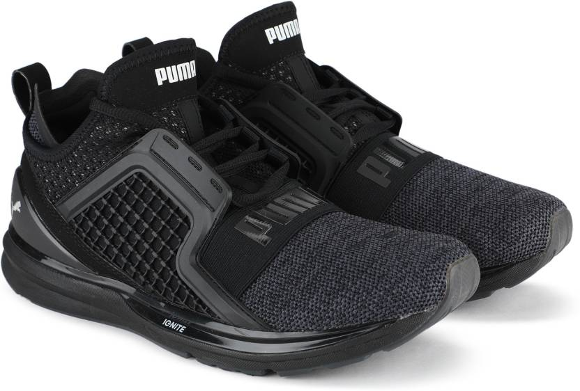 online store 590d9 b7c9a Puma IGNITE Limitless Knit Running Shoes For Men