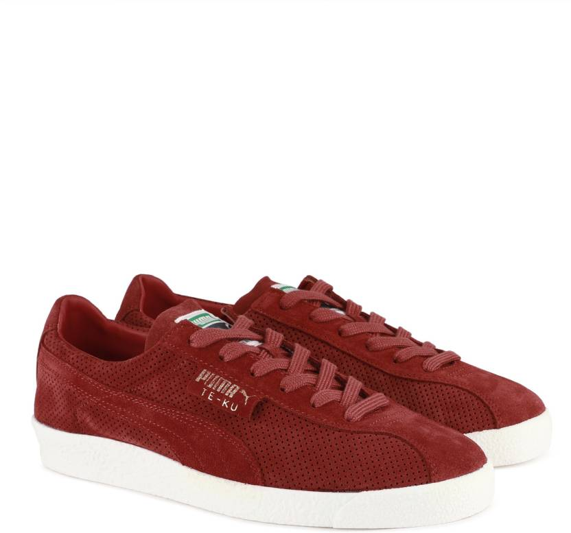 768f5463764c88 Puma Te-Ku Summer Sneakers For Men - Buy Red Dahlia-Puma White Color ...