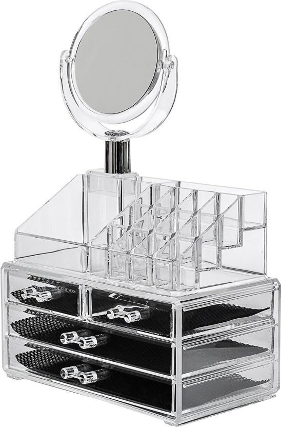 IBS Acrylic Makeup Organizer Storage Box Case Cosmetic