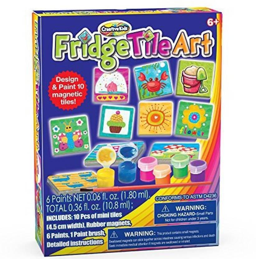 Creative Kids Diy Magnetic Mini Tile Art Make Your Own