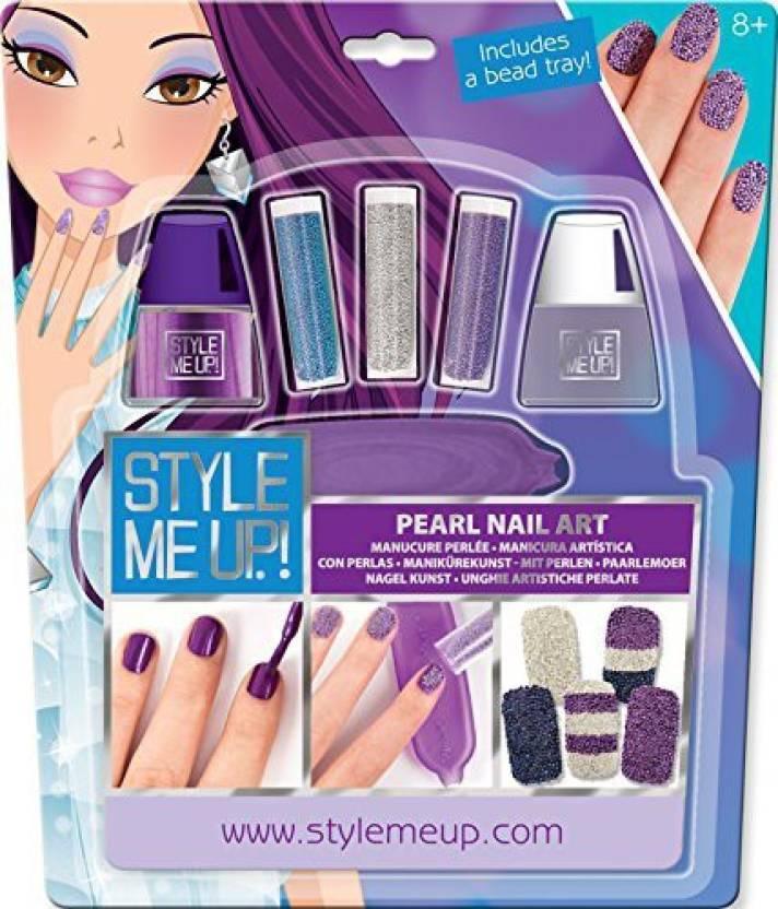 Style Me Up Purple Pearl Nail Art Purple Pearl Nail Art Shop