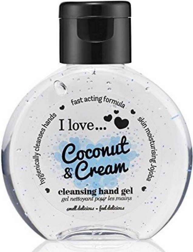 I Love Love Coconut & Cream Cleansing Hand Gel - Price in