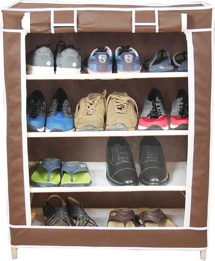 3cd16894b9 Wyvern Multipurpose Portable Folding Shoe Rack/Shoe Cabinet With ...