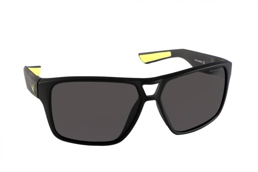 newest collection 89f75 23702 Nike Rectangular Sunglasses (Grey)