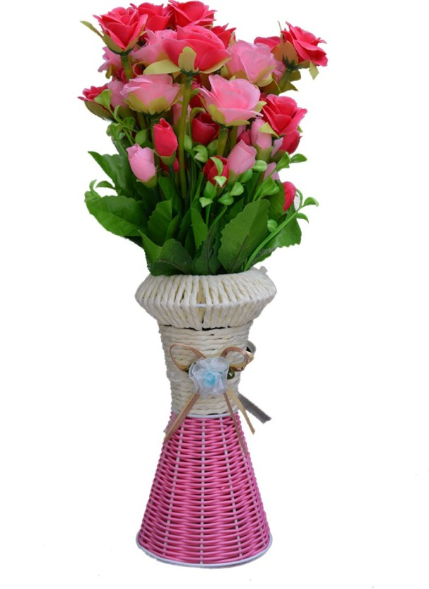 SKY TRENDS Artificial Flowers with Flower Pot | Flower vase for Home Decoration | Flower Pot with Artificial Flowers-036 Plastic Vase (13.5 inch ...  sc 1 st  Flipkart & SKY TRENDS Artificial Flowers with Flower Pot | Flower vase for Home ...