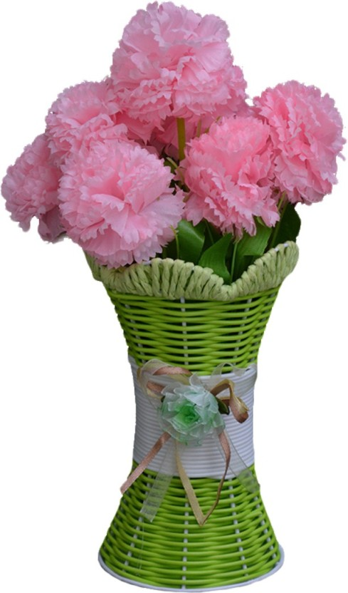 SKY TRENDS Artificial Flowers with Flower Pot | Flower vase for Home Decoration | Flower Pot with Artificial Flowers-017 Plastic Vase (11.5 inch ...  sc 1 st  Flipkart & SKY TRENDS Artificial Flowers with Flower Pot | Flower vase for Home ...