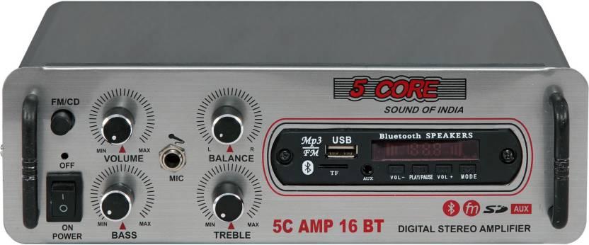 5 Core MINI-AMP-16BT Bluetooth Home 12 W AV Control