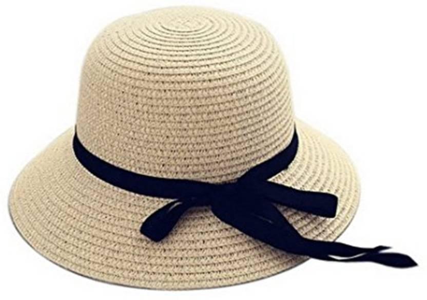 a0ac9eaabfa Tahiro Cream Colour Fedora Hat Price in India - Buy Tahiro Cream ...