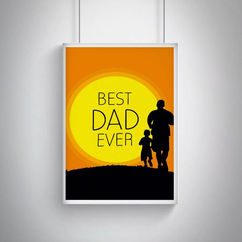 Cool Trendy Quirky Posters Best Dad Ever