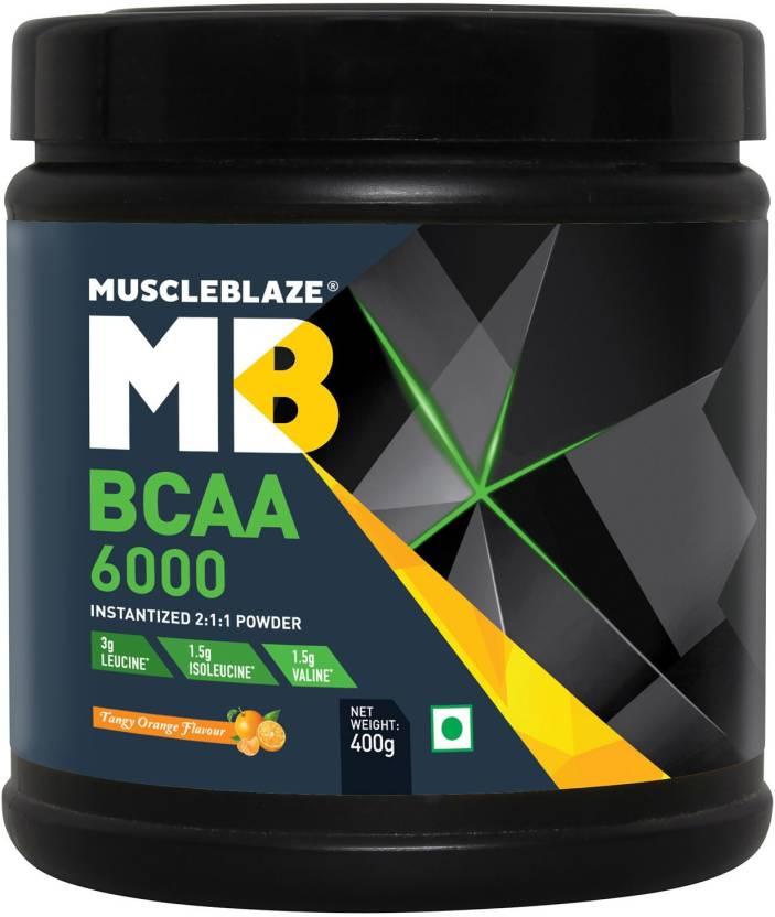 MuscleBlaze Instantized BCAA Powder 6000 Amino Acid supplement BCAA