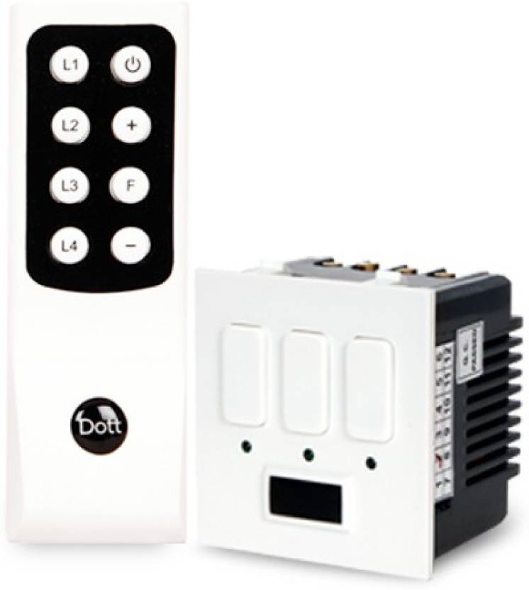 Dott Systems Dott Systems Remote Control Switch Modular 3 Lights 5 ...