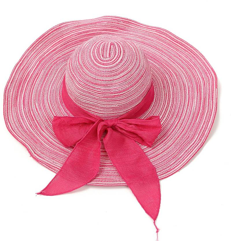 8bf7037b359 Tahiro Pink Fedora Hat Price in India - Buy Tahiro Pink Fedora Hat ...