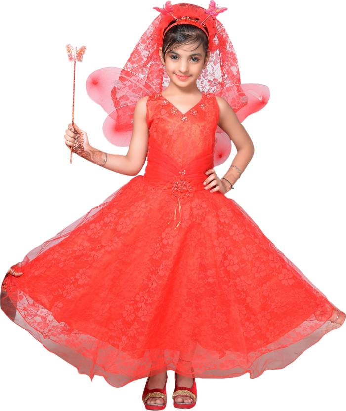 3d07bd8a2 Ahhaaaa Girls Maxi Full Length Party Dress Price in India - Buy ...